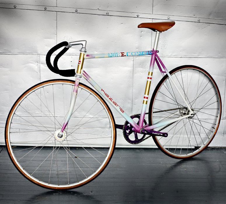 Bikes Natas his track bikes nowadays